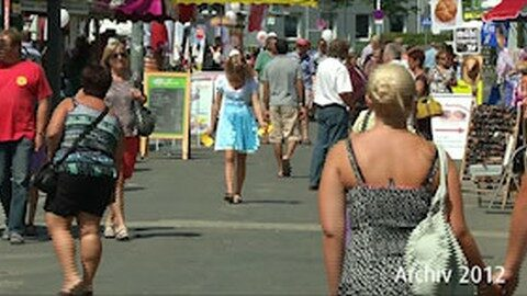 Rückblick: Mühlviertler Wiesn und Wahl zum Trachtenpärchen 2012