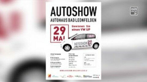 Ankündigung Autoshow in Bad Leonfelden am 29.5.2016
