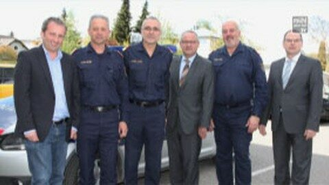 Die ÖVP des Bezirkes zu Besuch bei allen Polizei-Dienststellen