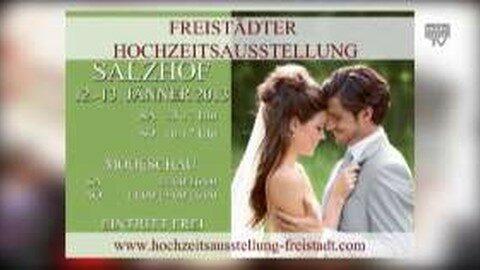 Ankündigung Hochzeitsausstellung 2013 im Salzhof Freistadt
