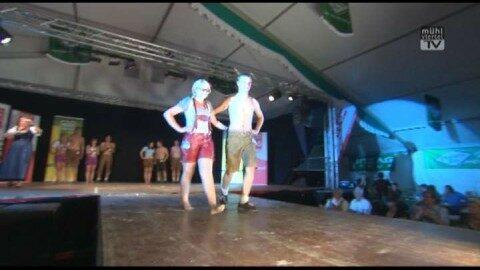 Mühlviertler Volksfest u. Wahl zum Trachtenpärchen 2012
