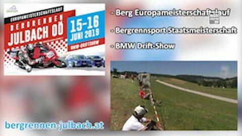 Ankündigung Bergrennen in Julbach