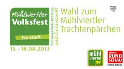 Ankündigung Mühlviertler Trachtenpärchen 2013