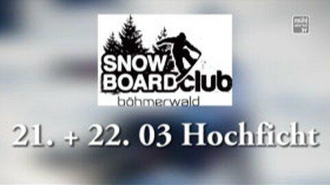 Ankündigung Snowboard Staatsmeisterschaft am Hochficht