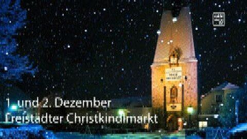 Ankündigung Freistädter Christkindlmarkt