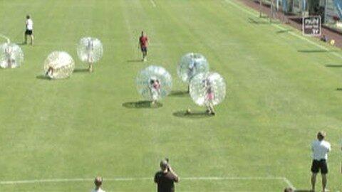 Bubble Soccer Turnier in Vorderweißenbach