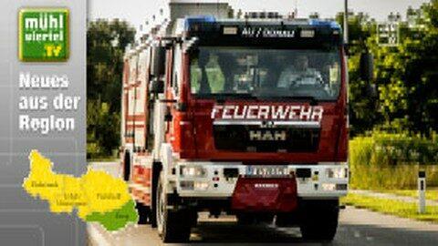 Übergabe des neuen LFA-B Einsatzfahrzeug an die FF Au/Donau