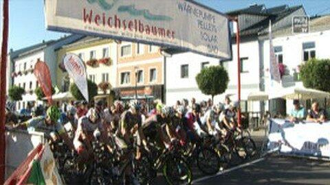 Radkriterium mit Empfang von Olympionikin Martina Ritter in Bad Leonfelden
