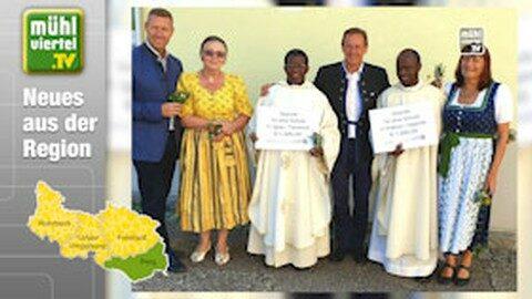 Gemeinde Katsdorf spendet für Schulen in Afrika