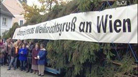 Christbaumverabschiedung in Helfenberg