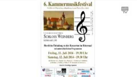Ankündigung Klassikkonzert Schloss Weinberg