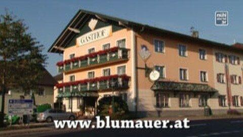 Werbung GH Blumauer