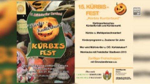 Ankündigung Kürbisfest in der LWS Freistadt
