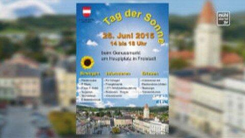 Ankündigung Tag der Sonne in Freistadt