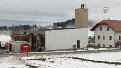 Bau des neuen Feuerwehrhauses in Nebelberg geht in die Endphase